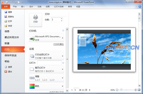 Microsoft PowerPoint2010官方免费下载